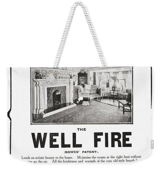 Early 20th Century Advertisement Weekender Tote Bag