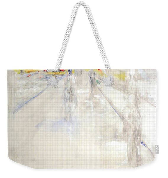 Early Winter In Manhattan Weekender Tote Bag