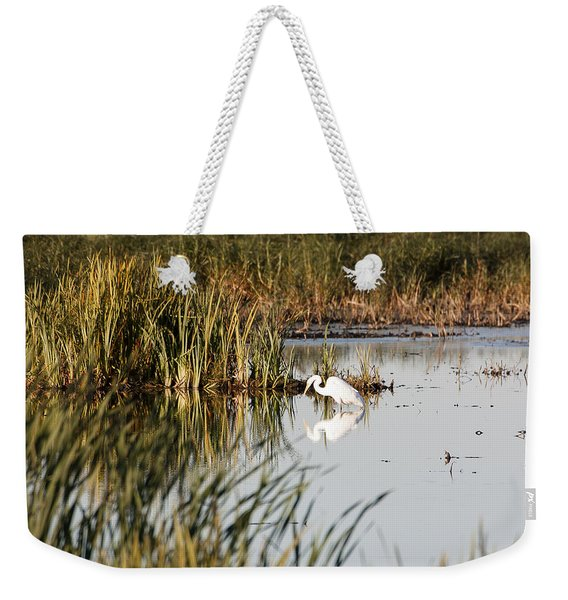 Egret - Horicon Marsh - Wisconsin Weekender Tote Bag