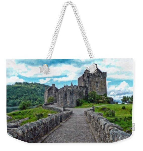 Eilean Donan Castle - -sct665549 Weekender Tote Bag
