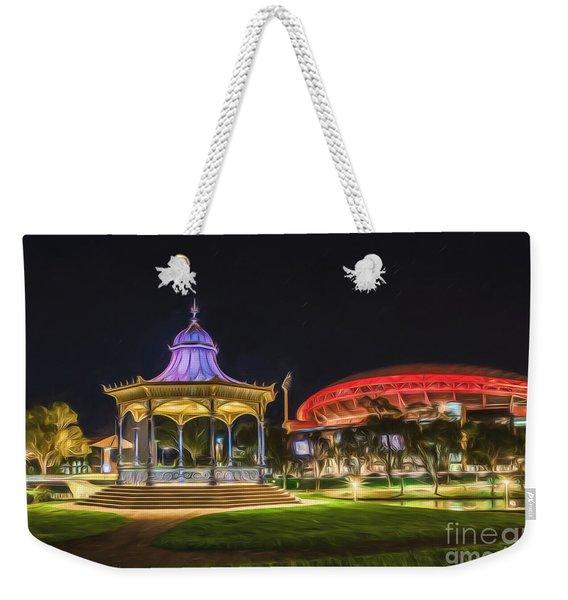 Elder Park Elegance Weekender Tote Bag