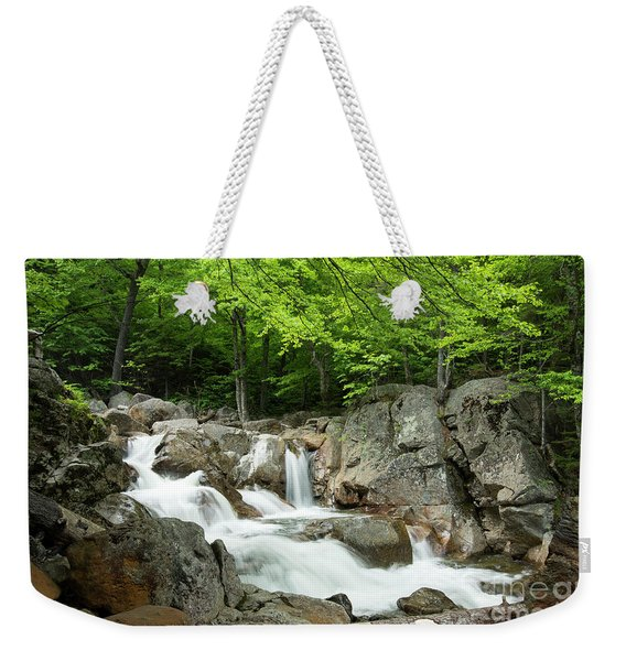 Ellis River Waterfall Weekender Tote Bag