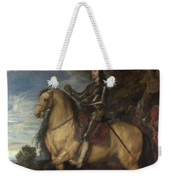 Equestrian Portrait Of Charles I Weekender Tote Bag