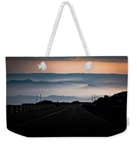 Etna Road Weekender Tote Bag
