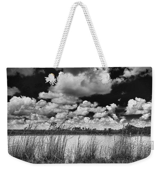 Everglades Lake Weekender Tote Bag