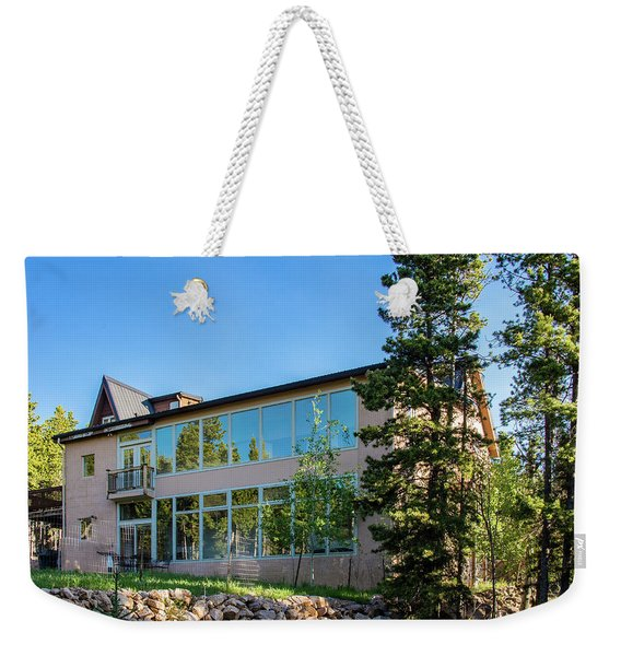 Evergreen Escape Weekender Tote Bag