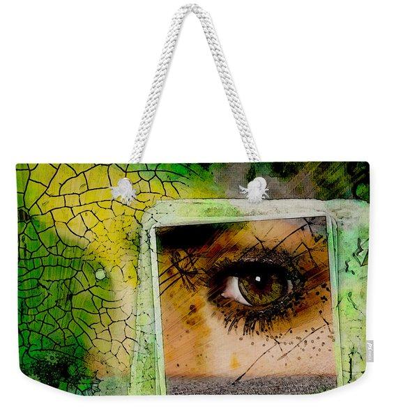 Eye, Me, Mine Weekender Tote Bag