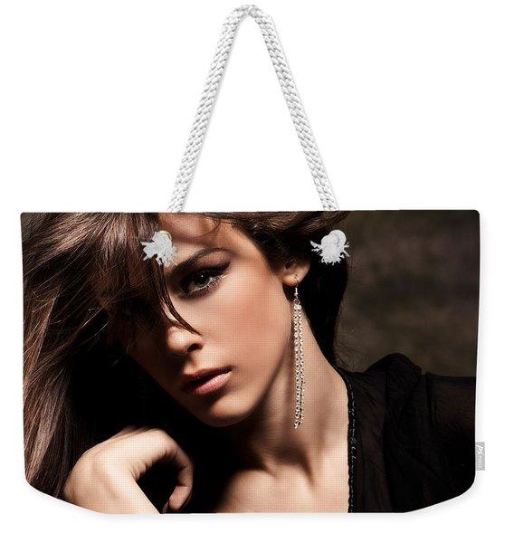 Face Weekender Tote Bag