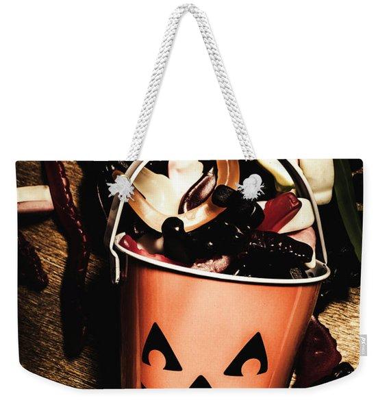 Fall Of Halloween Weekender Tote Bag
