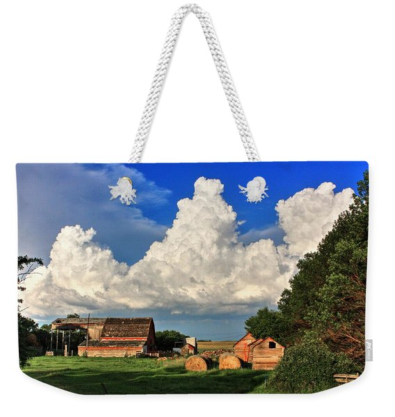 Farm Yard Weekender Tote Bag