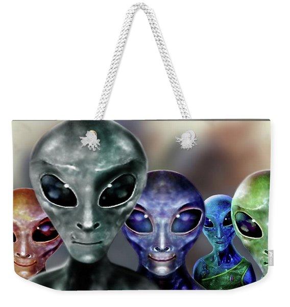 Fear  Not  . . . Weekender Tote Bag