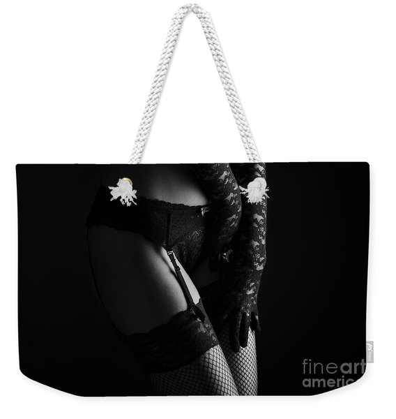 Female Lingerie Weekender Tote Bag