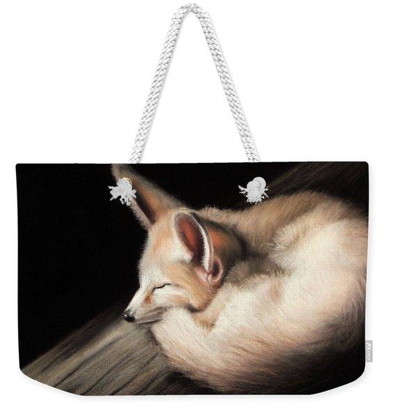 Fennec Fox Weekender Tote Bag