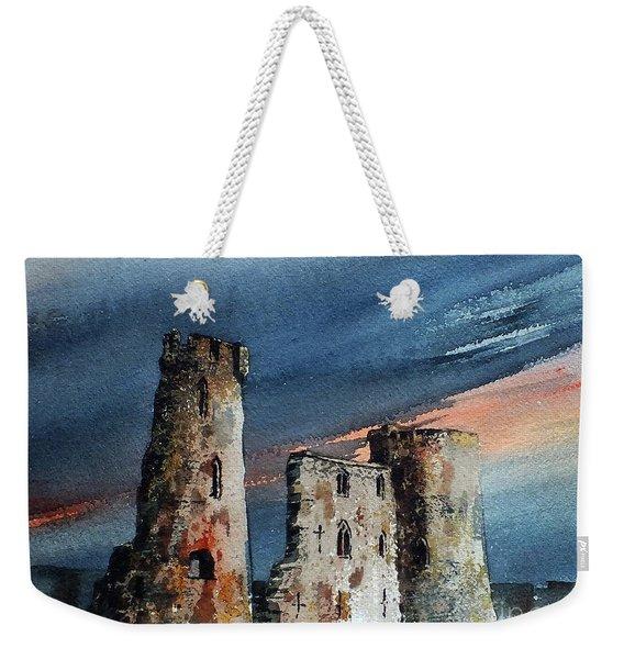Ferns Castle, Wexford Weekender Tote Bag