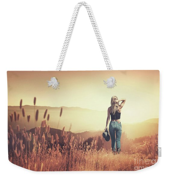 Fields Of Gold Weekender Tote Bag
