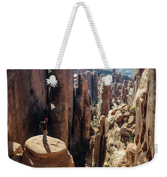 Fiery Furnace Weekender Tote Bag