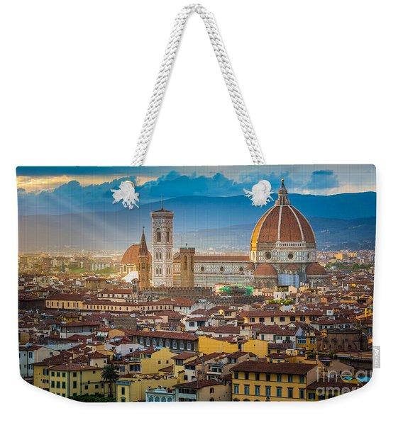Firenze Duomo Weekender Tote Bag