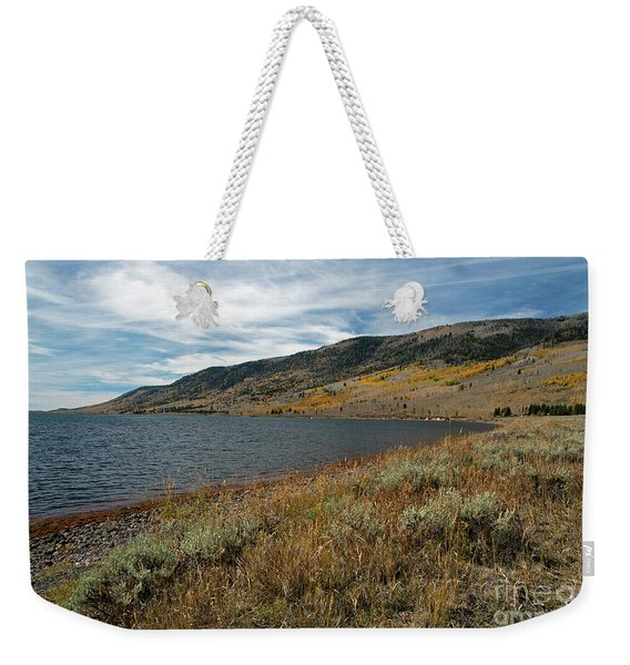 Fish Lake Ut Weekender Tote Bag