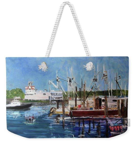 Fisherman's View Weekender Tote Bag