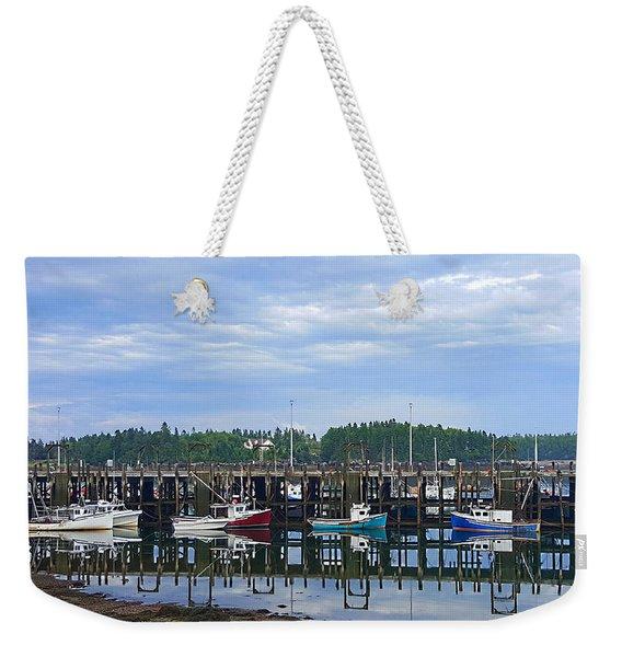 Fishing Boats - Beaver Harbour Weekender Tote Bag
