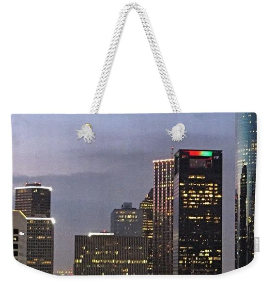 #flashbackfriday - The View Of Weekender Tote Bag