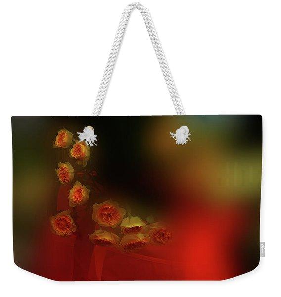 Floral Art 8 Weekender Tote Bag