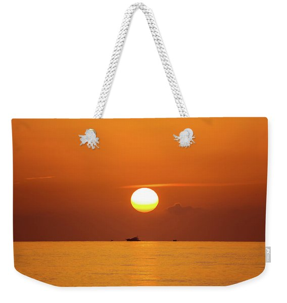 Florida Sunrise Weekender Tote Bag