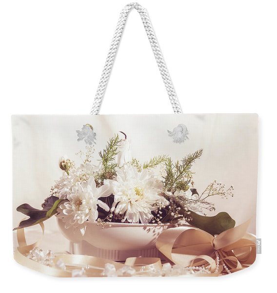 Flower Bouquet Weekender Tote Bag