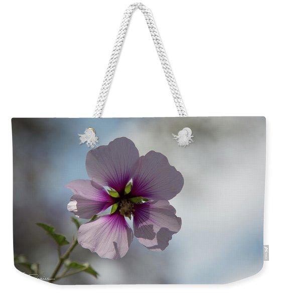 Flower In Focus Weekender Tote Bag