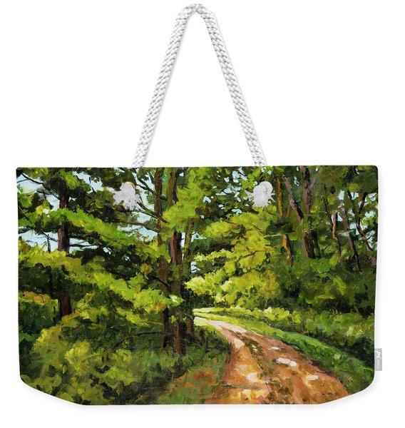 Forest Pathway Weekender Tote Bag