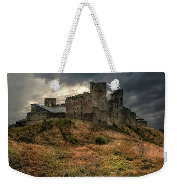 Weekender Tote Bag featuring the photograph Forgotten Castle by Jaroslaw Blaminsky