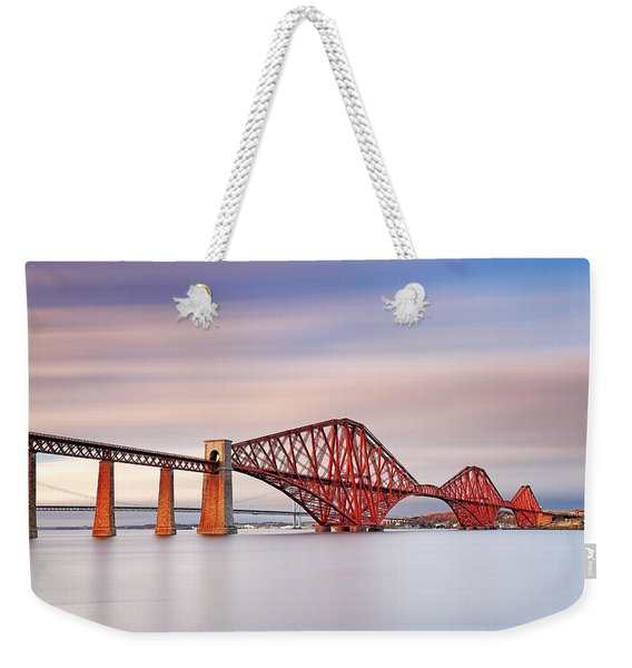 Forth Railway Bridge Weekender Tote Bag