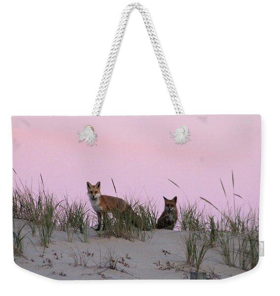 Fox And Vixen Weekender Tote Bag