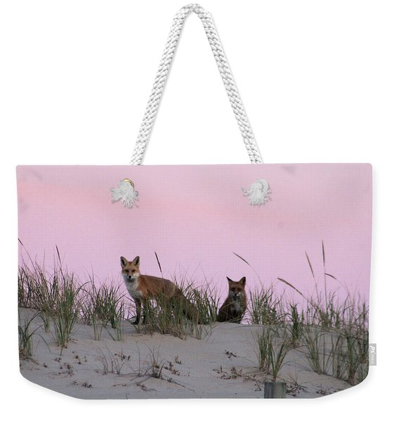 Fox And Vixen Weekender Tote Bag
