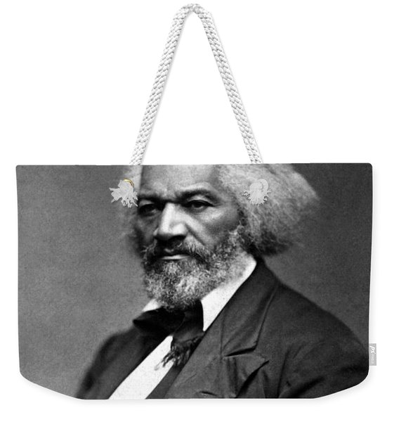 Frederick Douglass Photo Weekender Tote Bag