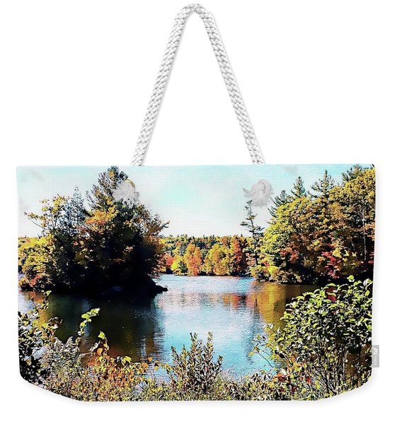 From Vermont With Love Weekender Tote Bag