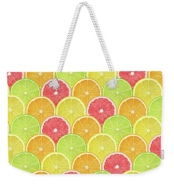 Fresh Fruit  Weekender Tote Bag