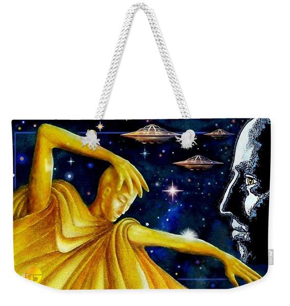 Galactic  Business Weekender Tote Bag