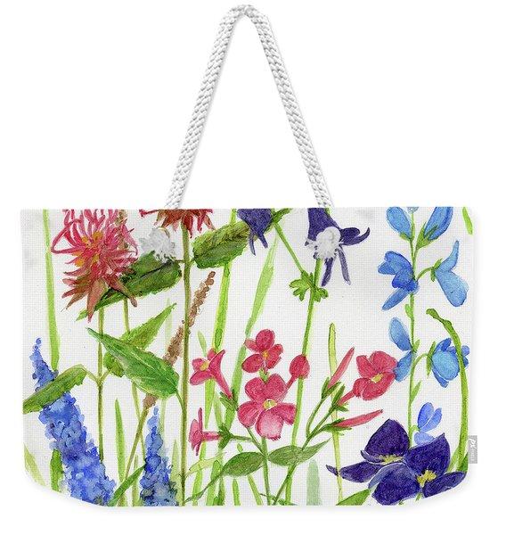 Garden Flowers Weekender Tote Bag