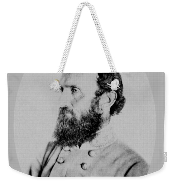 General Thomas Stonewall Jackson Photo Weekender Tote Bag