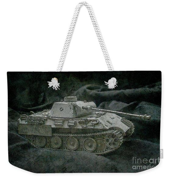 German Panther Tank Weekender Tote Bag
