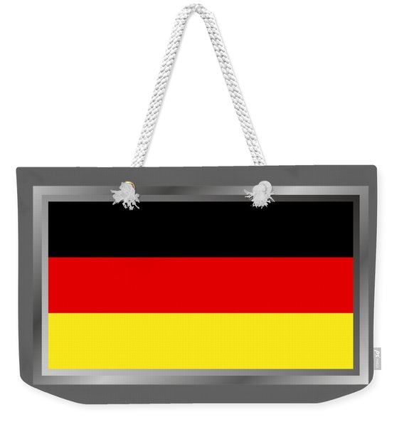 Germany Flag Weekender Tote Bag