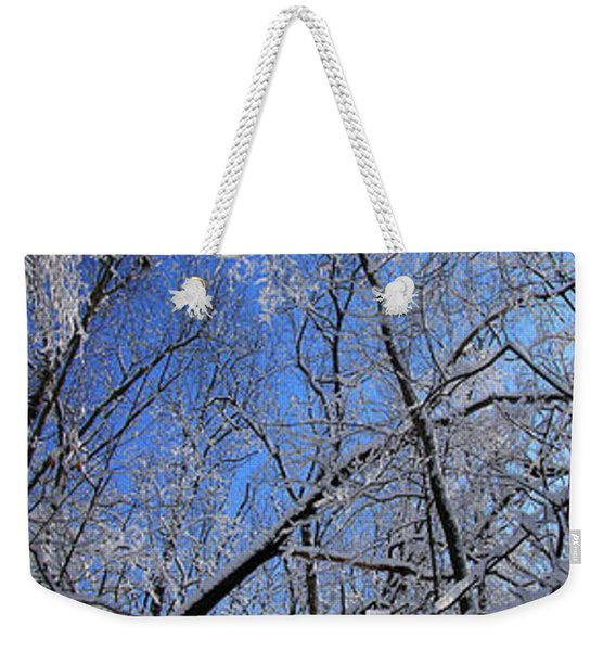 Glowing Forest, Knoch Knolls Park, Naperville Il Weekender Tote Bag