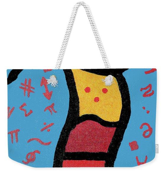 Go Figure Weekender Tote Bag
