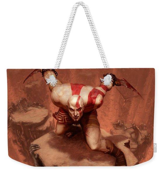 God Of War Weekender Tote Bag
