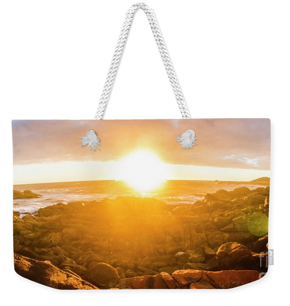 Golden Hour Weekender Tote Bag