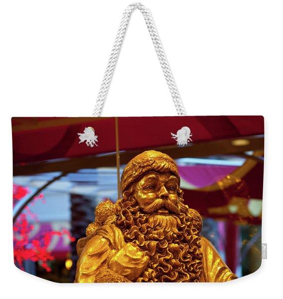 Golden Idol Weekender Tote Bag