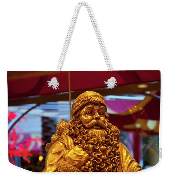 Golden Idol Weekender Tote Bag