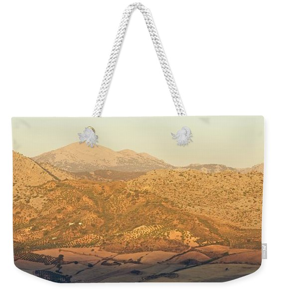 Golden Light In Andalusia Weekender Tote Bag