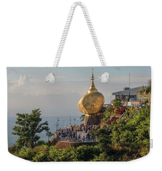 Golden Rock - Myanmar Weekender Tote Bag